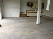 Residential Epoxy Coating Before